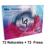 IN LOVE MIX NATURAL Y FRESA - 144 unids.